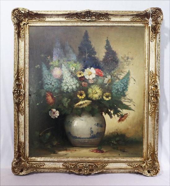 Lot 216: Gemälde ÖL/LW/Holz 'Zwei Putten', um 1800, unt...