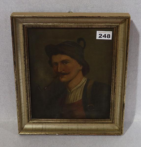 Lot 24: Dekorative 14 k Gelbgold Taschenuhr, rückseiti...